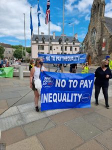 NHS Pay rally